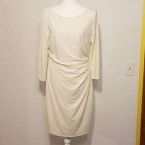 Lauren Ralph Lauren winter white dress